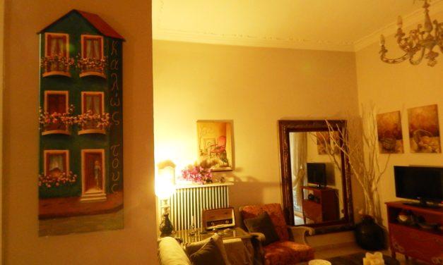 Στο σπίτι της Ήβης, κάθε αντικείμενο μοιάζει με ένα μικρό έργο τέχνης!