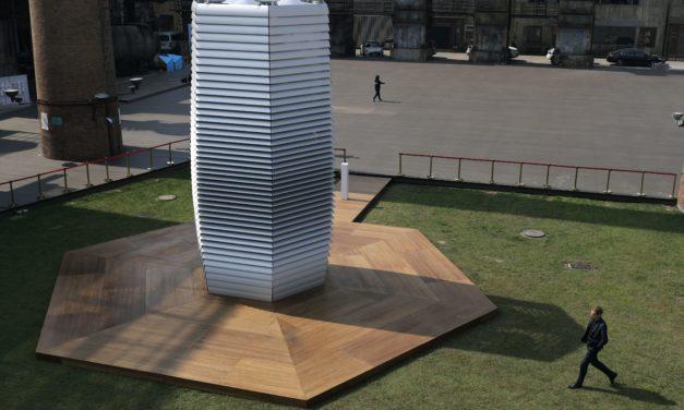 Smog Free Tower: Ένας πύργος που μετατρέπει το νέφος σε διαμάντια