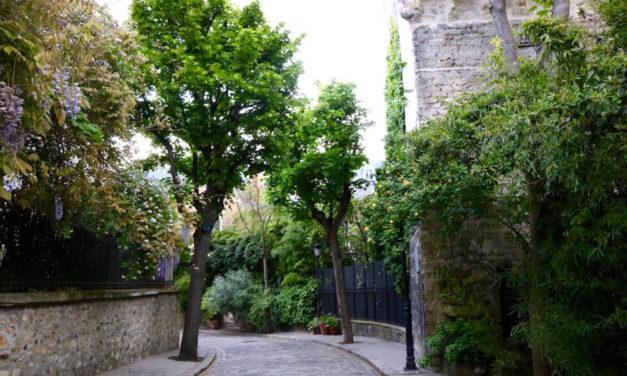Ένας μυστικός δρόμος στο Παρίσι γεμάτος ομορφιά