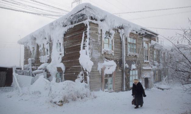 Το πιο κρύο χωριό στον κόσμο, με μέση θερμοκρασία τους -58 βαθμούς Κελσίου