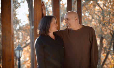 Ο Ορφέας Περίδης και η Λιζέτα Καλημέρη στη Σφίγγα
