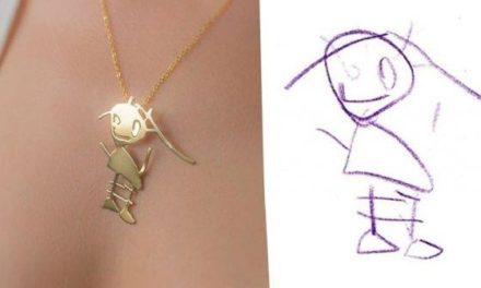 Ένα εργαστήριο σχεδίου στην Τουρκία μετατρέπει παιδικές ζωγραφιές σε κοσμήματα