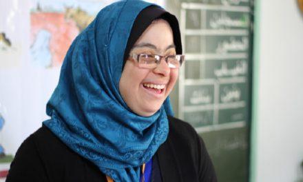 Hiba Al-Shurafa: Η πρώτη δασκάλα με σύνδρομο Down στη Γάζα