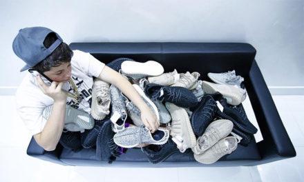 O Benjamin Kickz έγινε επιτυχημένος επιχειρηματίας στα 18 του, πουλώντας σπάνια παπούτσια σε διάσημους
