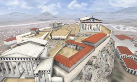 Διαδραστική περιήγηση στην Ακρόπολη των Αθηνών  με τη βοήθεια της εικονικής πραγματικότητας