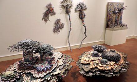 Μια συλλογή έργων από τρισδιάστατα «νησιά» φτιαγμένα από περίτεχνα μοτίβα