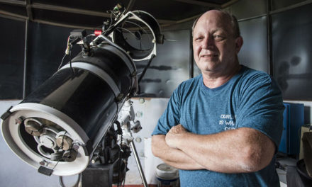 Ένας ερασιτέχνης αστρονόμος κατάφερε ν' απαθανατίσει για πρώτη φορά την αρχή μιας έκρηξης σούπερ-νόβα