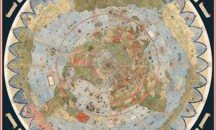 Ο μεγαλύτερος και παλαιότερος χάρτης στον κόσμο μας δείχνει που κρύβονται γοργόνες και μονόκεροι!