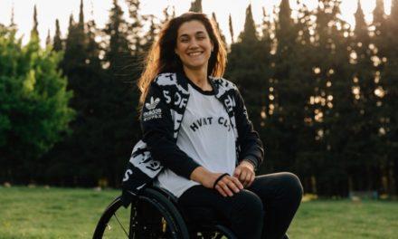 Η 24χρονη Γεωργία Καλτσή κάνει σκι, kitesurf, καταδύσεις και δεν το βάζει κάτω ποτέ!