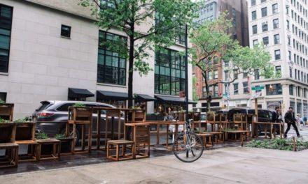 Δημόσια καθίσματα με οικολογική «συνείδηση» στην καρδιά της Νέας Υόρκης