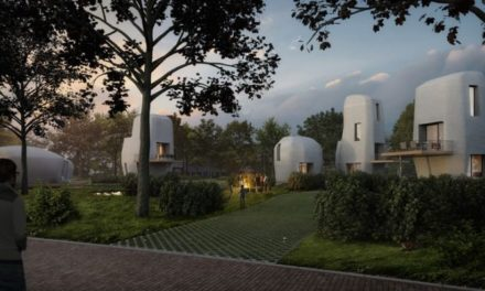 Τα πρώτα κατοικήσιμα 3D εκτυπωμένα σπίτια βρίσκονται στην Ολλανδία