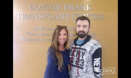 Έβαλε στόχο νέας χρονιάς να γίνει δότρια νεφρού και σήμερα ο David Nicherie ζει χάρη σ' εκείνη!