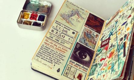 Τα σημειωματάρια του πολυταξιδεμένου καλλιτέχνη José Naranja εντυπωσιάζουν όποιον τα αντικρίσει!