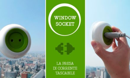 Window Socket : Μια πρίζα που φορτίζει τις συσκευές σας με ενέργεια από τον ήλιο!