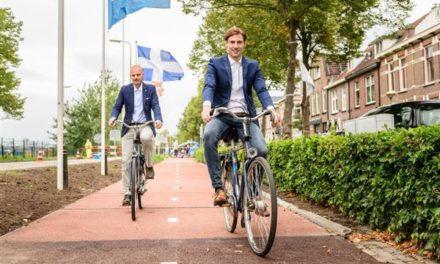 Ο πρώτος ποδηλατόδρομος στον κόσμο από ανακυκλωμένο πλαστικό βρίσκεται στην Ολλανδία