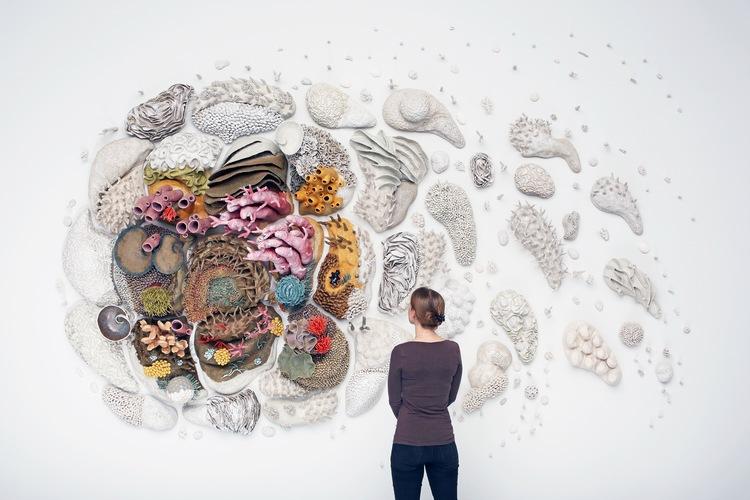 Η Courtney Mattison υπερασπίζεται τους ωκεανούς με την τέχνη της!