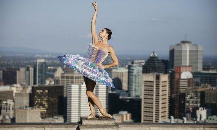 Χορευτές σε διάφορα σημεία του πλανήτη φορώντας στολές από διπλωμένο χαρτί!