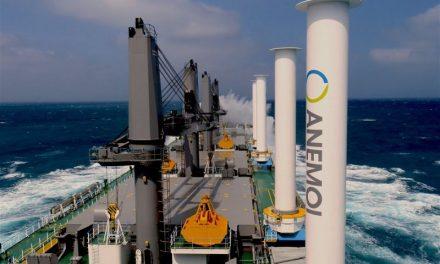 Το πρώτο πλοίο στον κόσμο που κινείται με αιολική ενέργεια