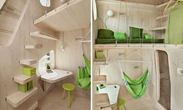 Ένα απίθανο φοιτητικό σπίτι μόλις 10 τετραγωνικών!