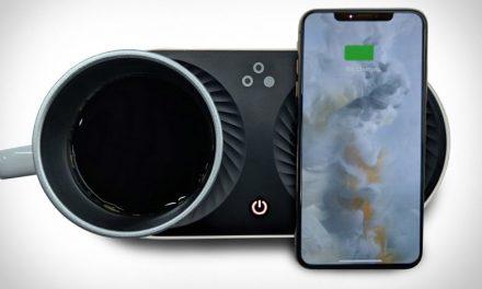 Nomodo Trio : Ένας φορτιστής φροντίζει για την μπαταρία του κινητού και τη θερμότητα του καφέ μας