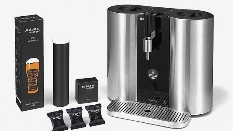 Έρχεται το μηχάνημα σαν καφετιέρα που θα φτιάχνει σπιτική μπίρα
