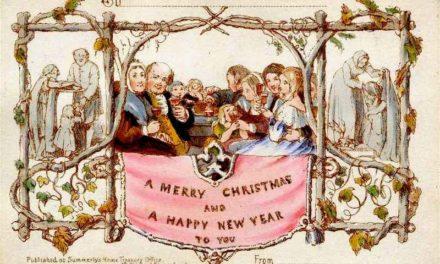Η ιστορία της πρώτης χριστουγεννιάτικης κάρτας