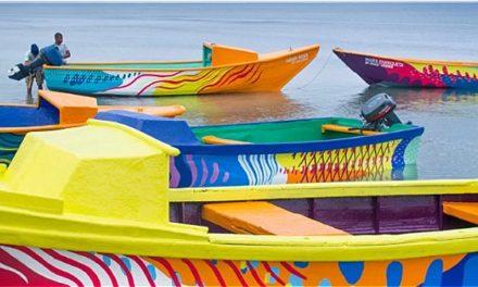 Σκουριασμένες ψαρόβαρκες γίνονται έργα τέχνης για τη διατήρηση της θαλάσσιας βιοποικιλότητας