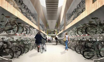 Tο μεγαλύτερο πάρκινγκ ποδηλάτων στον κόσμο με 12.500 χιλιάδες θέσεις