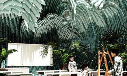 Αρχιτεκτονική καινοτομία από πλαστικά μπουκάλια σε καλλιτεχνικό σχολείο στο Μεξικό