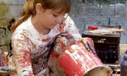 12χρονο κορίτσι-θαύμα των εικαστικών έχει πουλήσει έργα του για 30.000 δολάρια