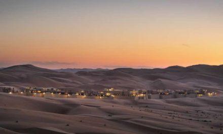 Ένα εντυπωσιακό 5άστερο ξενοδοχείο στη μέση της ερήμου που μοιάζει με… οφθαλμαπάτη!