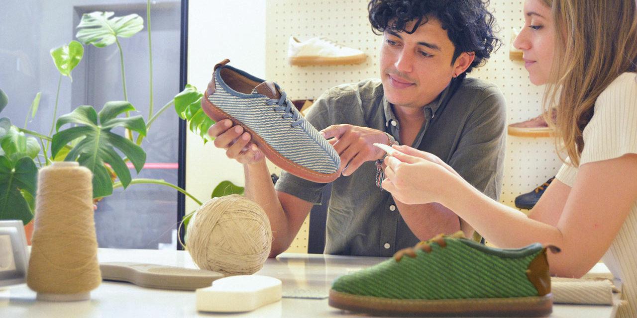 Πρωτότυπη ιδέα με οικολογικά παπούτσια φτιαγμένα από ίνες μπανάνας