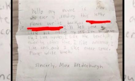 Μήνυμα σε μπουκάλι: Το όνειρο 10χρονου έγινε πραγματικότητα εννέα χρόνια μετά