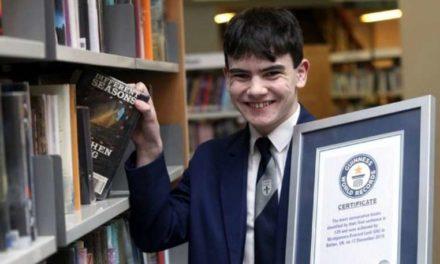 Μόντι Λορντ : Ένας 14χρονος βιβλιοφάγος κερδίζει μια θέση στο βιβλίο των Ρεκόρ Γκίνες
