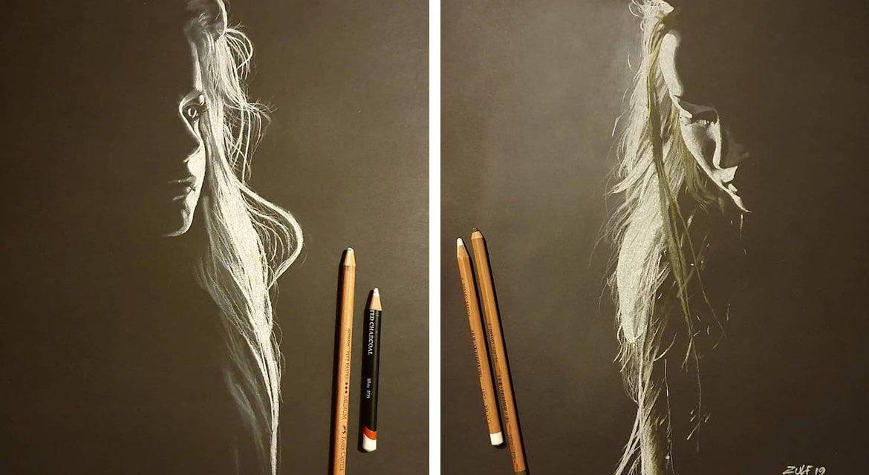 Καλλιτέχνης δημιουργεί γυναικεία πορτρέτα που συναντούν το φως!