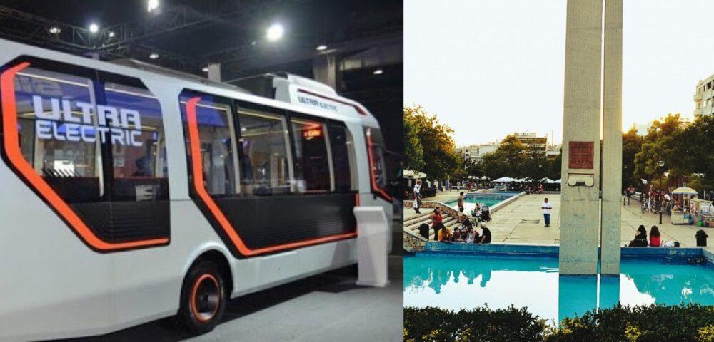 Νέα Σμύρνη: Δημιουργεί ανοικτό κέντρο εμπορίου και φέρνει ηλεκτρικά λεωφορεία
