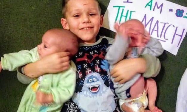 4χρονος σούπερ ήρωας: Έγινε δωρητής μυελού των οστών για τα νεογέννητα αδέρφια του