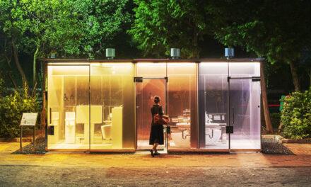 Διαφανείς δημόσιες τουαλέτες τοποθετήθηκαν σε πάρκα του Τόκιο