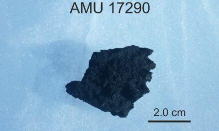 Τα μυστικά του μετεωρίτη AMU 17290 αποκαλύπτουν Έλληνες επιστήμονες