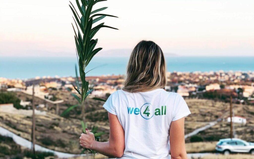 H «We4All» στοχεύει την Κυριακή 8 Νοεμβρίου στην μεγαλύτερη δενδροφύτευση στην Ελλάδα