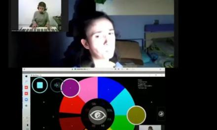 Η Αλεξάνδρα παίζει μουσική με τα μάτια: Έλληνας δημιούργησε ειδικό λογισμικό για τετραπληγικούς (Βίντεο)