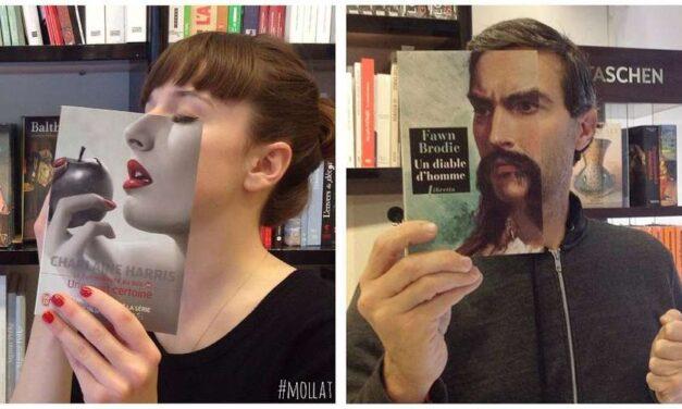 Το #bookface συνδυάζει εξώφυλλα βιβλίων με τον πραγματικό κόσμο