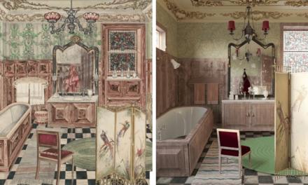 Εντυπωσιακά μπάνια από διάσημους πίνακες «ζωντανεύουν» και γίνονται έμπνευση για το σπίτι μας