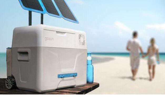 Ένα πρωτοποριακό φορητό ψυγείο που δημιουργεί πάγο κι υπόσχεται ξένοιαστο καλοκαίρι
