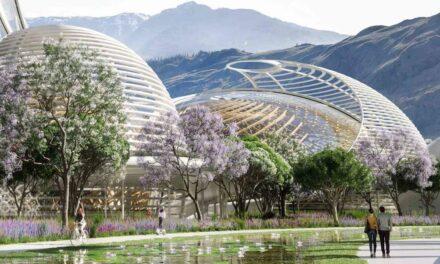 Ένα οικολογικό ψηφιακό πάρκο σε σχήμα λουλουδιού για την προστασία των μελισσών