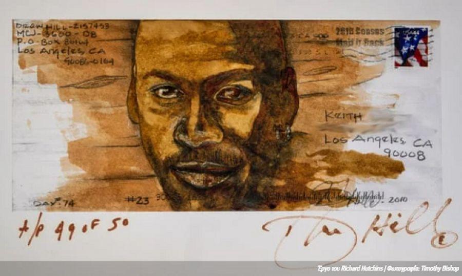 Richard Hutchins: Ο άστεγος καλλιτέχνης που γνώρισε την καταξίωση