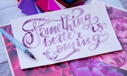 Τα υγιεινά οφέλη που προσφέρει το lettering