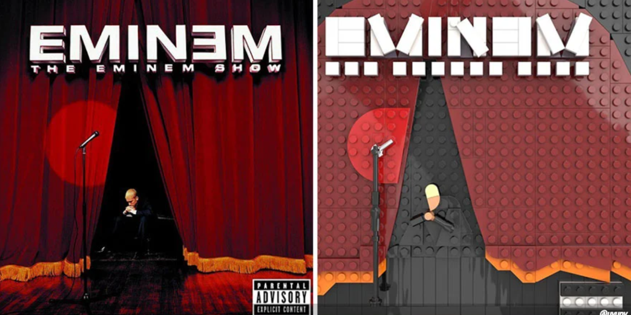 Καλλιτέχνης αναδημιουργεί δημοφιλή άλμπουμ με LEGO και το αποτέλεσμα είναι μοναδικό
