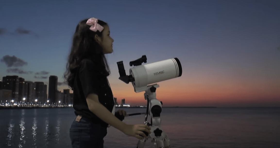 Νικόλ Ολιβέιρα: Η 8χρονη από τη Βραζιλία μπορεί να γίνει η νεαρότερη αστρονόμος στον κόσμο